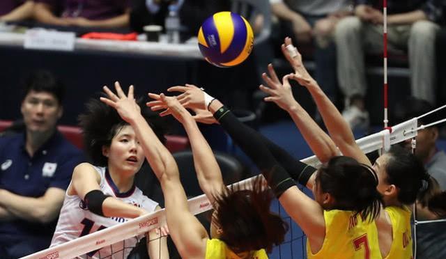国少女排统治力尽隐,击败韩国为亚锦赛复恩