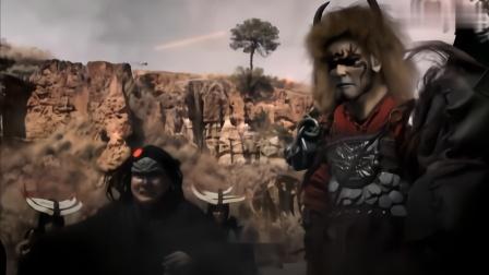 十二生肖传奇:皇帝大战蚩尤,四大神兽一出场蚩尤的魔兵全化为沙图片
