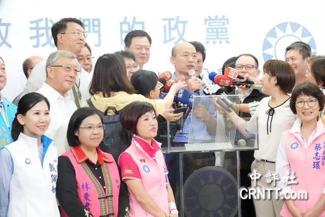 韓國瑜9-10月間將訪美 稱希望達到三個目的