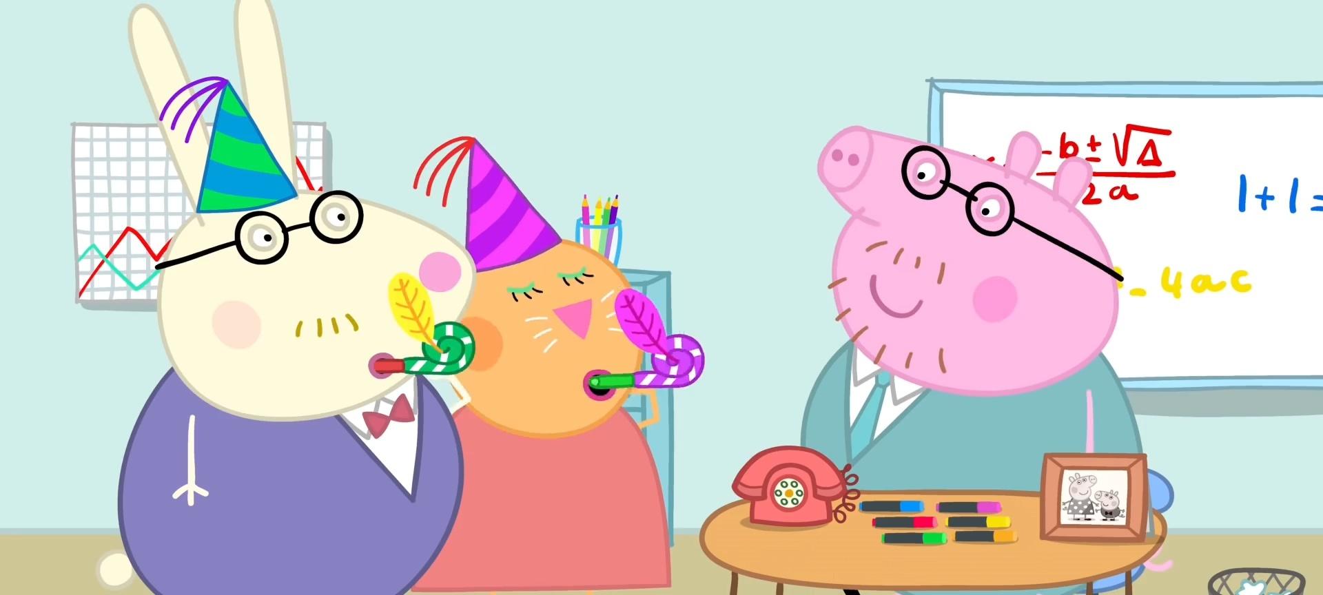 手绘卡通简笔画之画小猪佩奇