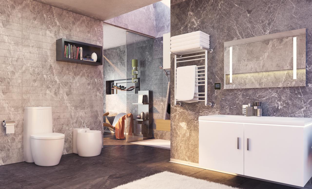 智能新體驗,智能電熱毛巾架打造智能衛浴新生態