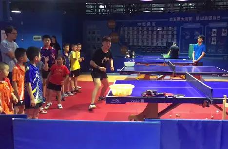 青少年宫乒乓球围棋亲自v围棋乒乓球少儿上海教练动作考级图片