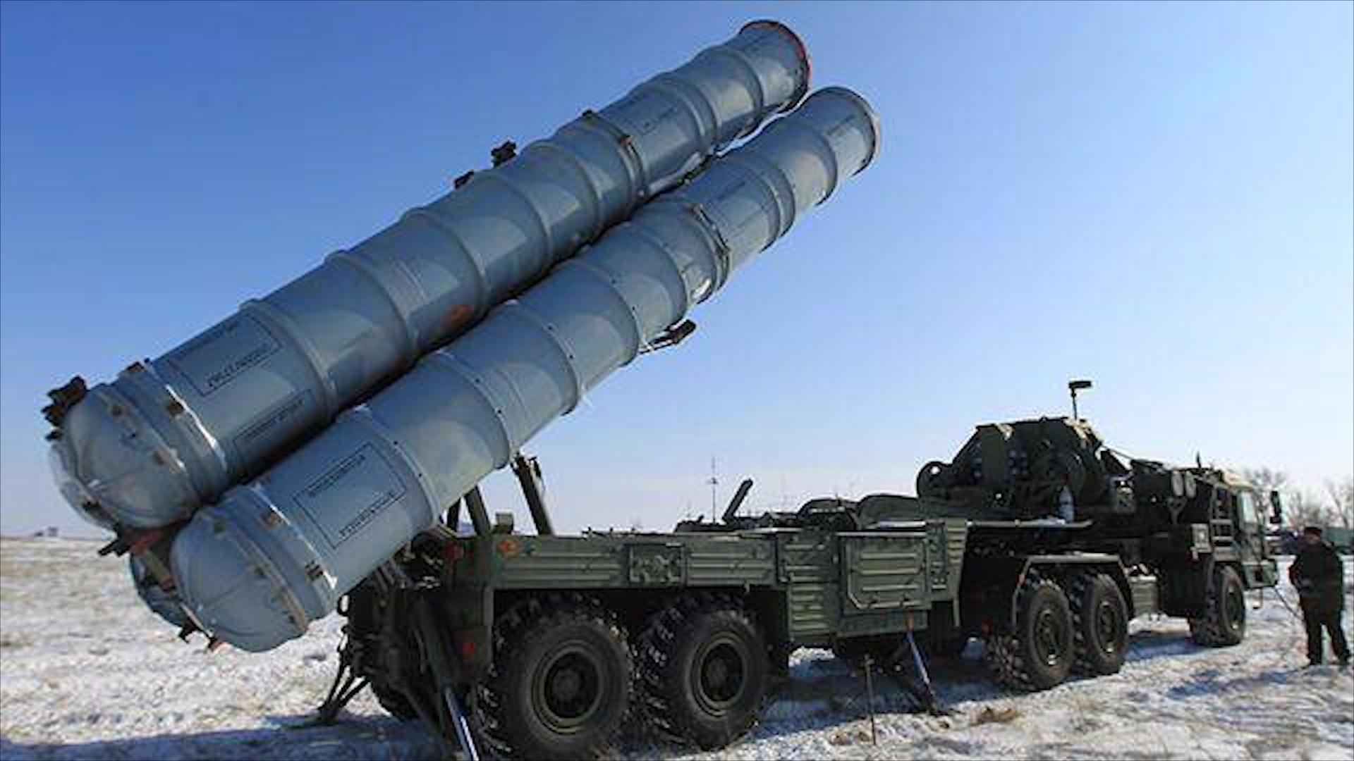 普京这广告太奢侈了!S-400不间断连射 拦截80个目标