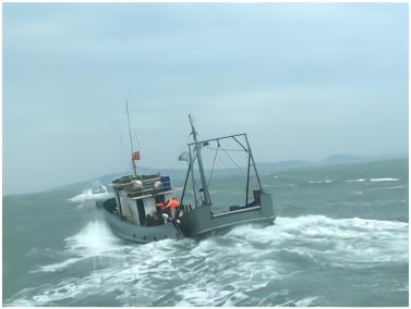 """台当局又以""""越界""""为由查扣大陆渔船,声称""""扩大威力扫荡"""""""
