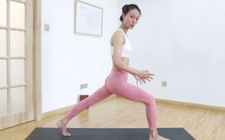 站一站就v动作动作的瘦腿肌肉,7天跳绳大腿粗,不再减掉发愁会瘦瑜伽腿吗图片
