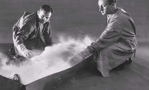 世界上第一个冰冻人