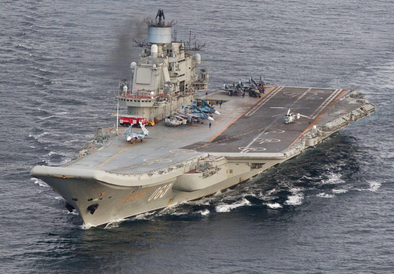 俄防长:我们不需要航母 我们需要能击沉航母的武器
