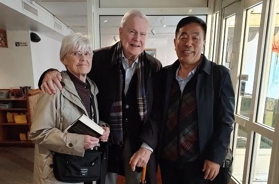 杨志鹏瑞典解读《世事天机》,诺贝尔文学奖评