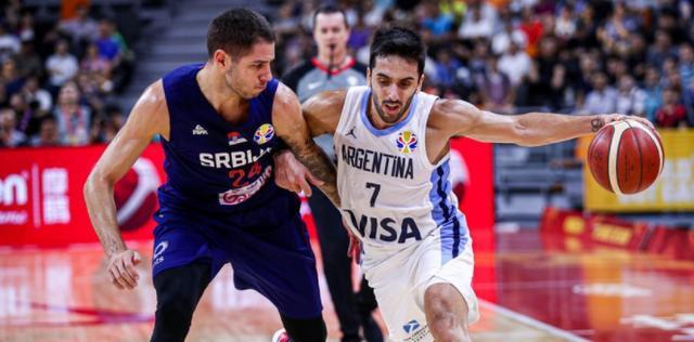 爆冷!阿根廷97-87塞尔维亚挺进四强,约基奇16+10,斯科拉20分
