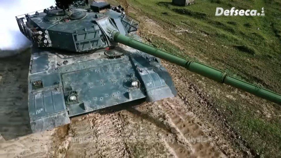 孟加拉最强59G坦克视频曝光,火力敢怼T90