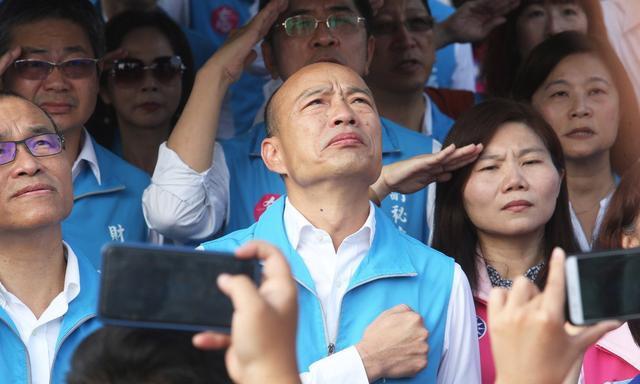 韩国瑜双十致辞痛批民进党:东厂仍旧在 肥猫处处生