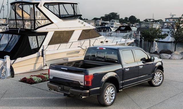 """3.5T V6+10AT配承载式车身,""""最豪华的美式皮卡车""""亮相成都车展"""