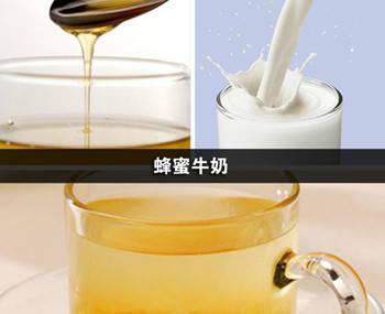牛奶+蜂蜜清洗敏感肌肤