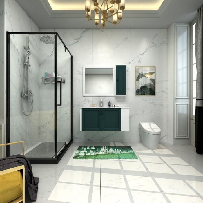 浴室装修新标准——四季沐歌浴室柜用细节打动人心
