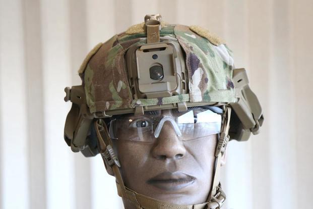 美军新型头盔现身叙利亚!外形丑陋,研发公司居然还产创可贴