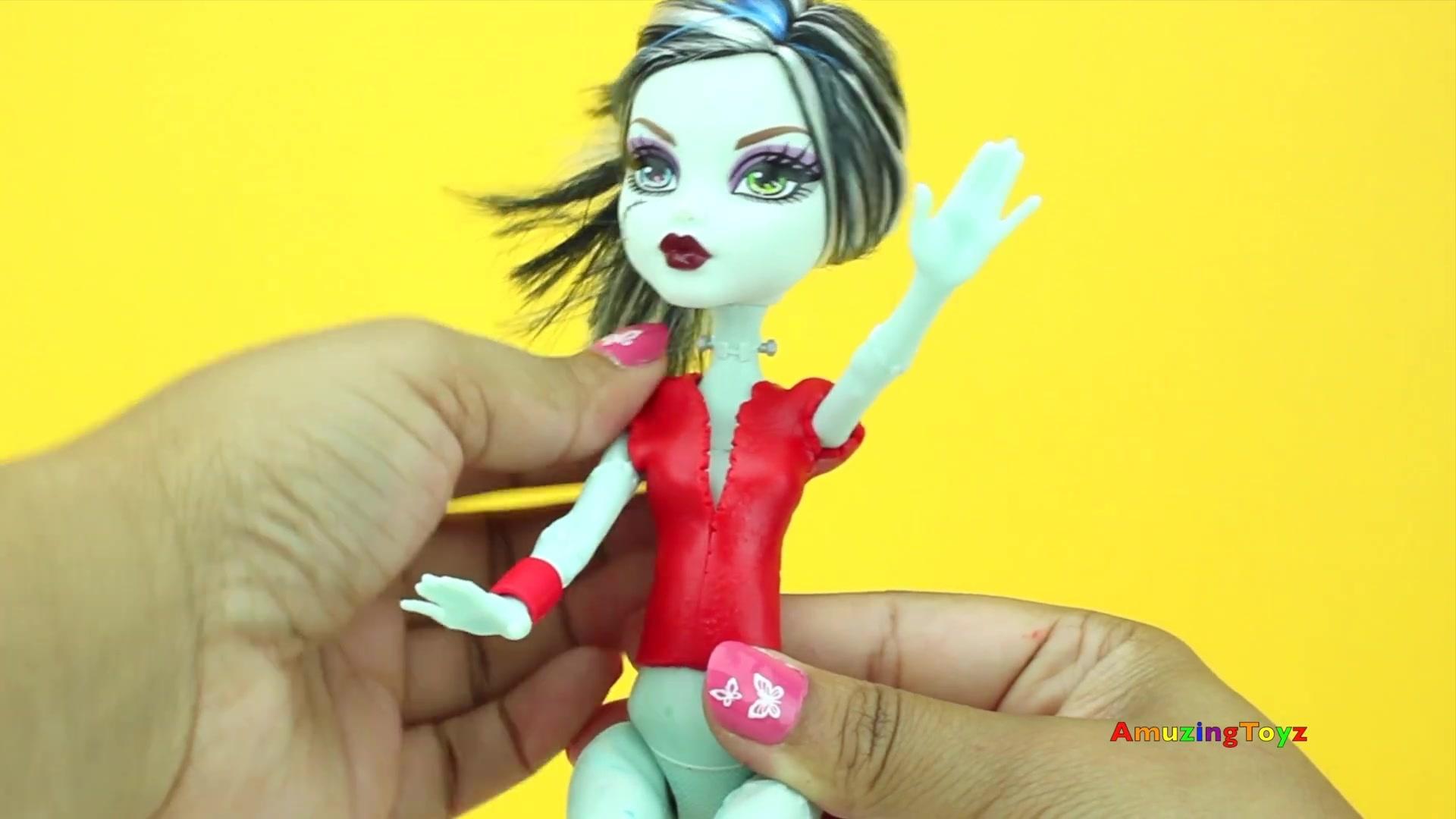 diy芭比娃娃衣服制作