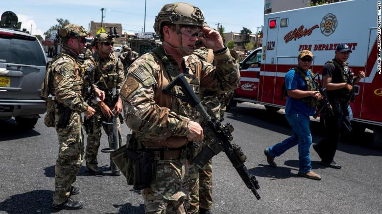 美国得州枪击案致至少20人死 特