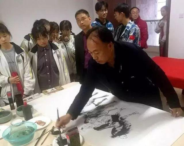 甘肃省美协副主席王晓银应邀参加书画名家走进井冈山采风活动