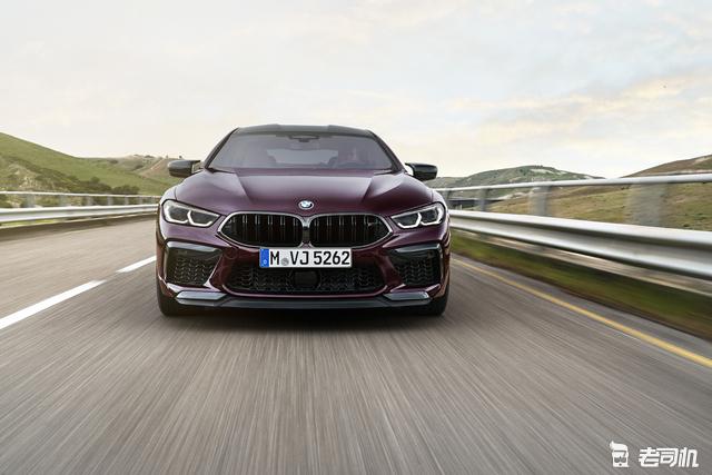 最快3.2秒破百 宝马M8 Gran Coupe发布