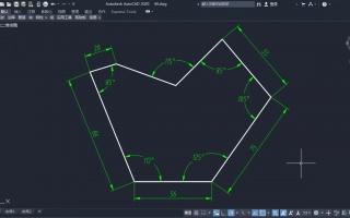 cad技巧绘制图,v技巧阵列网络,公切线,槽的通风工具煤矿练习平面图绘制图片