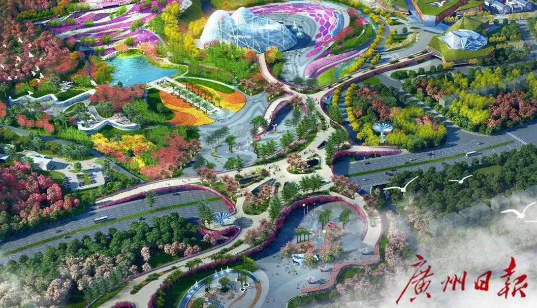 美爆了!广州花园49处景点曝光!全年鲜花盛放,能赏还能买