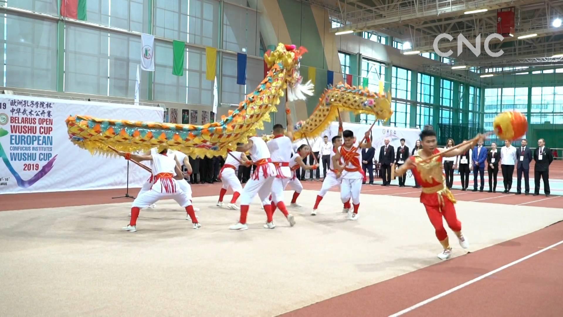 """""""欧洲孔子学院杯""""国际武术公开赛在白俄罗斯举办"""