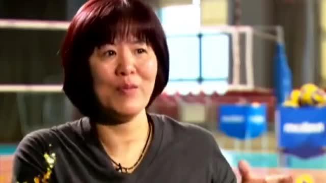 郎平女儿接受采访这段看完忍不住笑了,说话语气加表情图片