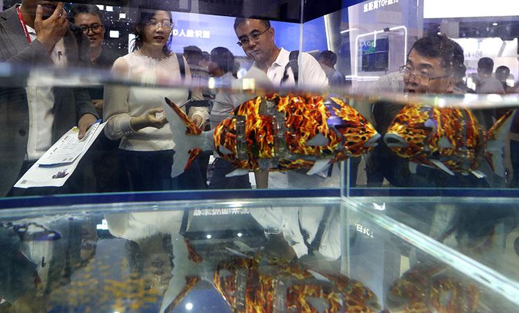 无所不能的机器人 2019世界机器人大会在京开幕