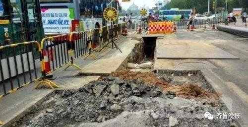 """""""措施""""指出不能随意修建地下管线 聂拉"""