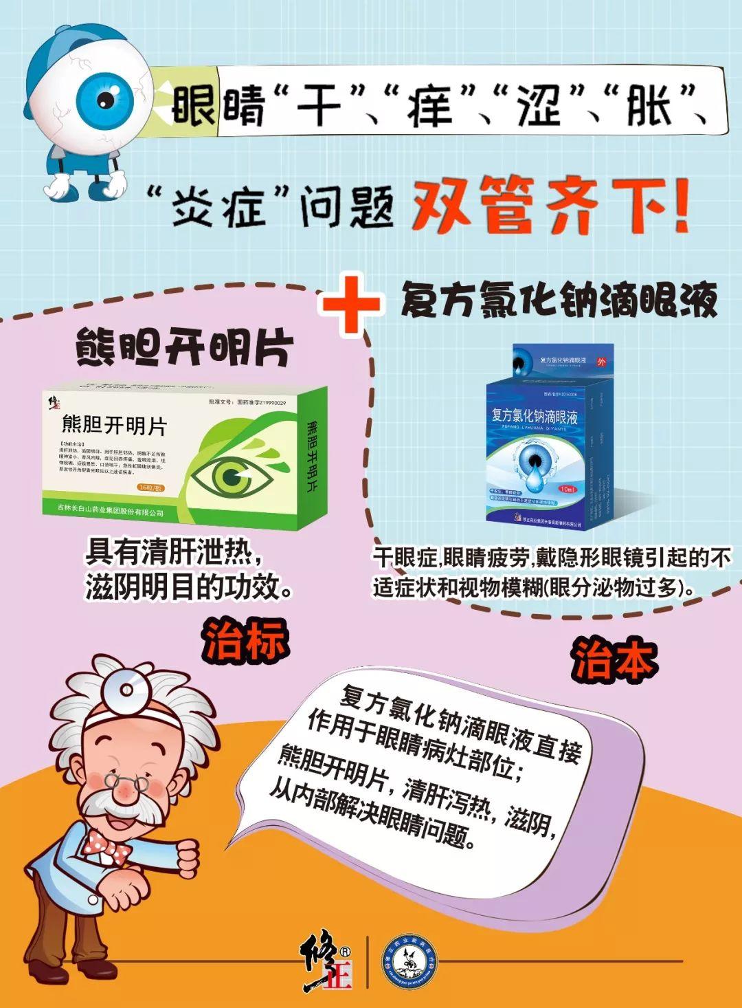 熊胆开明片提醒您:预防近视做好这五点