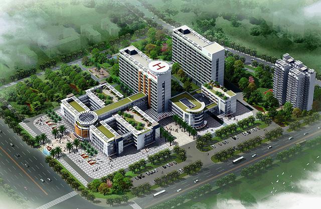 医疗建筑设计的鸟瞰 农村修建村委和医疗室的重