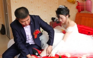 黑龙江一小伙结婚,娶了一位富家小姐,真是上辈子修来