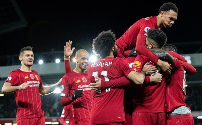 利物浦3-1击败曼城刷爆纪录!延续主场神迹,首个英超冠军就在眼前