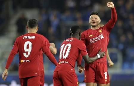 歐冠:張伯倫雙響馬內薩拉赫破門,利物浦客場4-1亨克