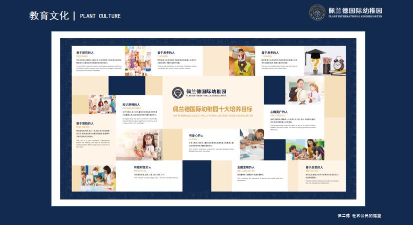 佩兰德国际幼稚园:10大培养目标 12种学习态度