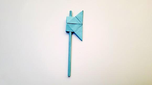 折纸王子教你宫岛凳鲨鱼7折纸详细视频教程