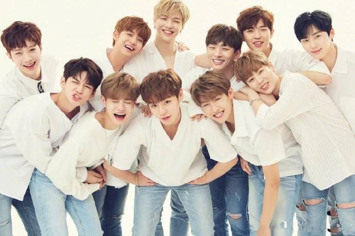 姜丹尼尔承认恋情后,WannaOne成员合体庆祝两周年,登melon榜首