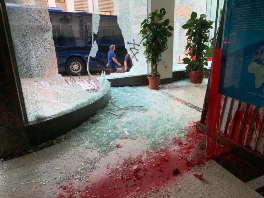 香港暴徒火烧新华社 这事不能这么算了
