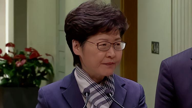 林郑月娥:暴力是与市民为敌 令香港踏上不归路