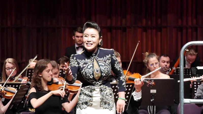 中欧国际声乐大赛金奖获得者王俪霏 再次唱响欧洲传承民族文化坚守初心