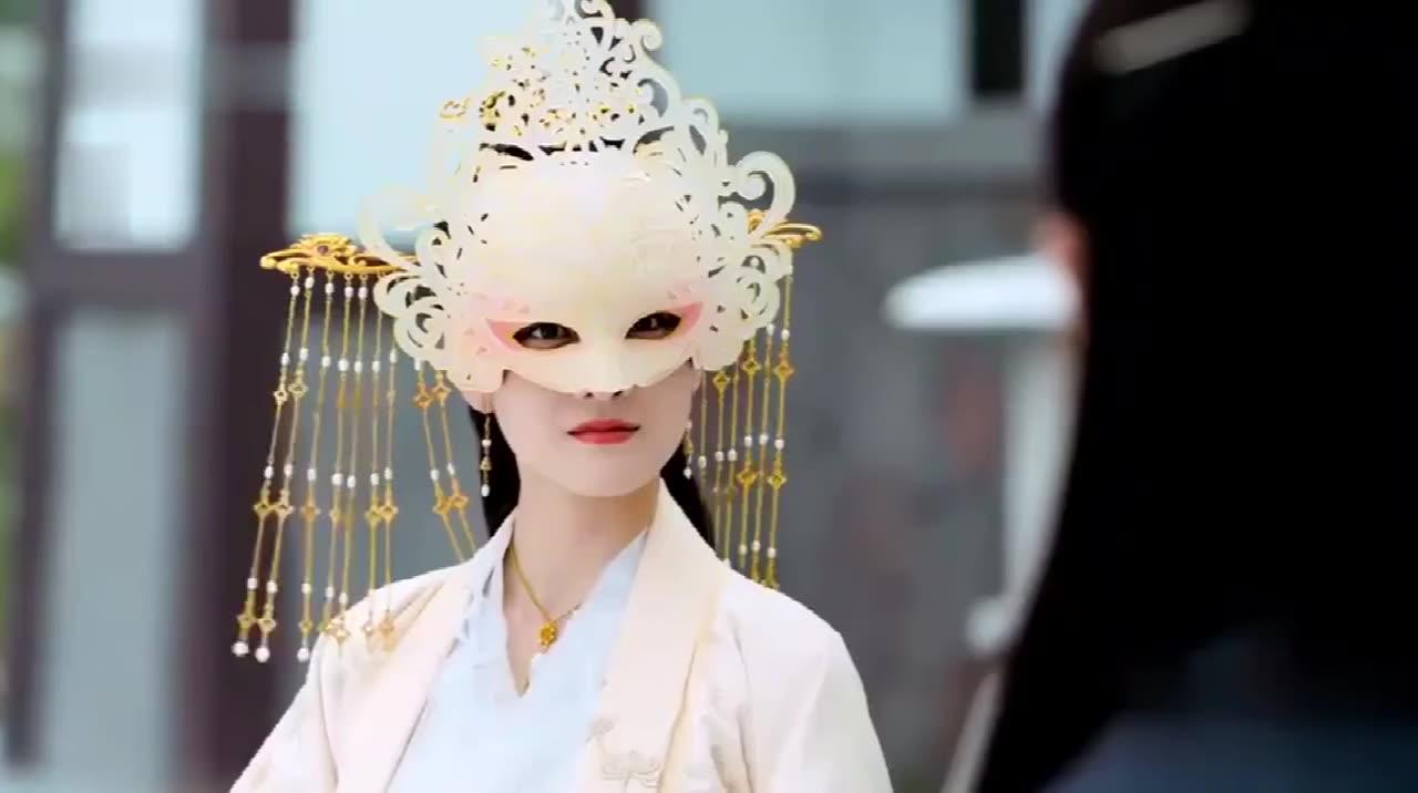 古装:公主长得太丑被嫌弃,不料面具摘掉后,洁癖男的病竟然好了