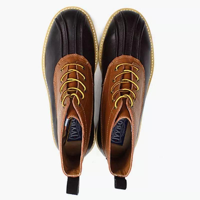 """猎鸭靴的经典""""五爪纹"""""""