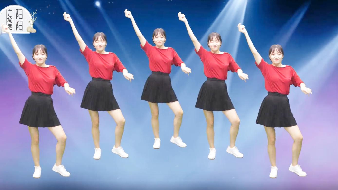 广场舞一首《中国范儿》欢快动听,中国姑娘跳舞就是这个范儿