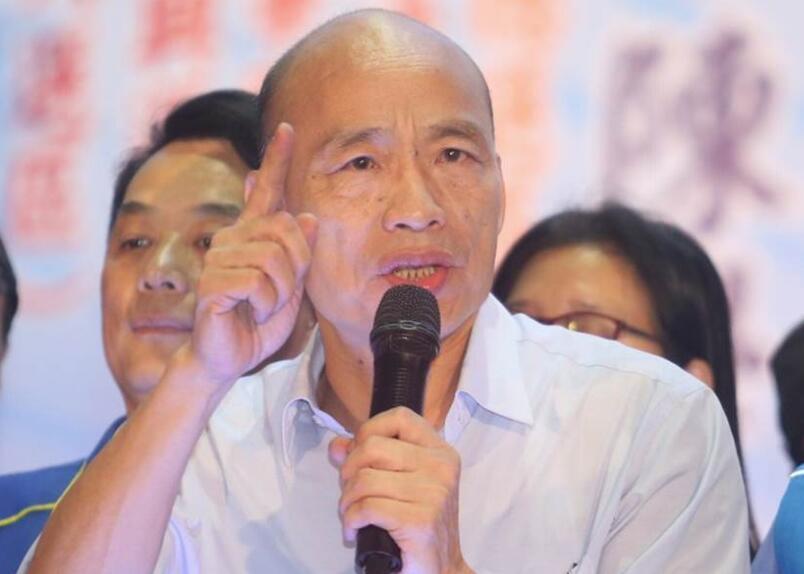 韩国瑜发誓2020夺回政权 怒批民