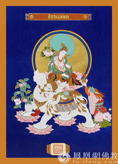 龙年出生的人守护神——普贤菩萨