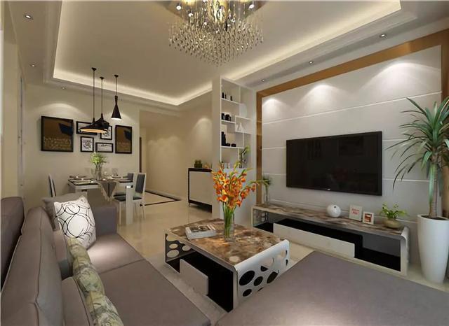 若是选择在小户型装修这种风格,尽可能选择浅色系,让室内空间感更强烈