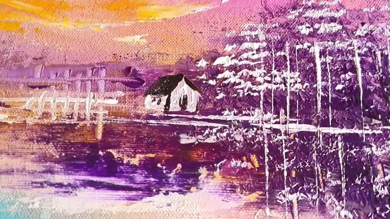 水彩艺术 | 诠释不一样的山水风景画