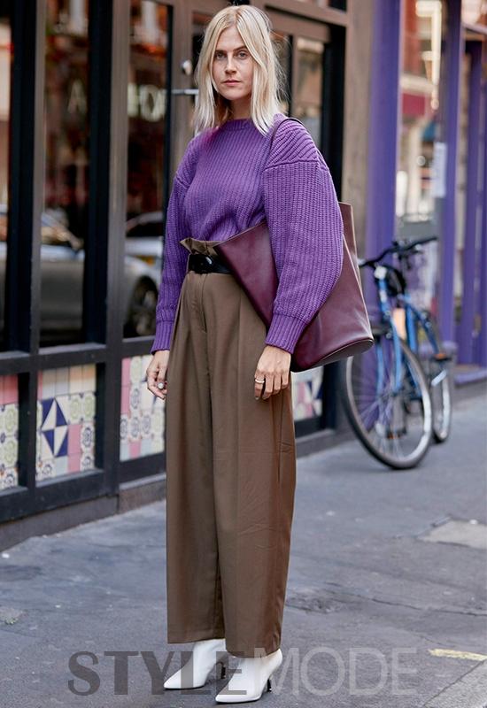 最新时装周街拍,这个秋季的造型重点来啦