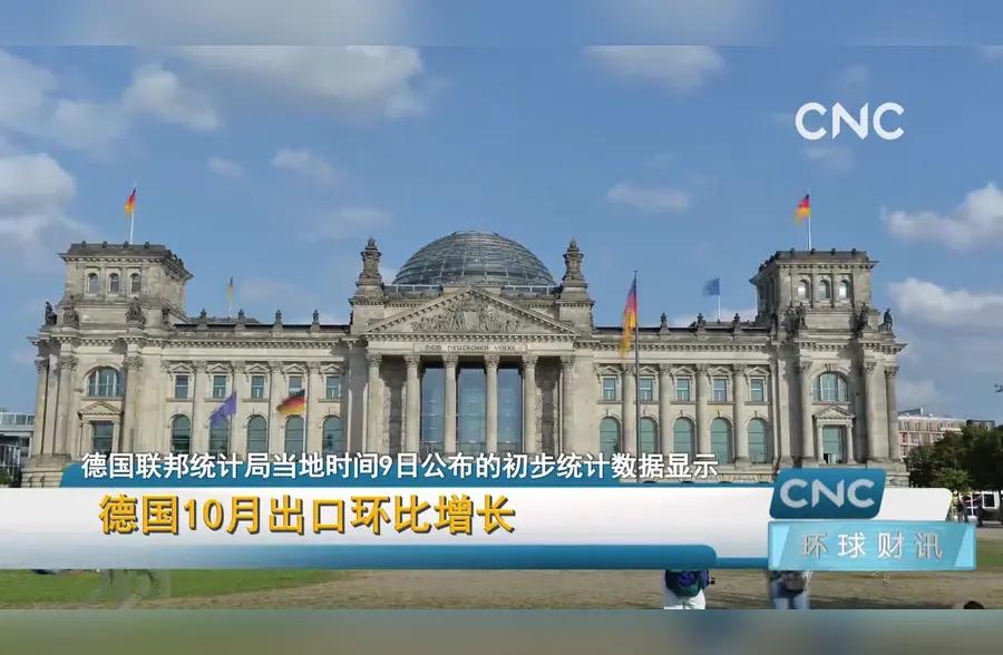德国10月出口环比增长