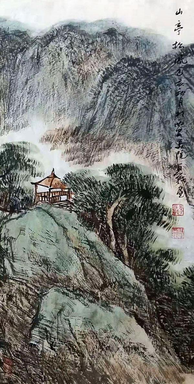 中国当代著名山水画家――李百战作品欣赏